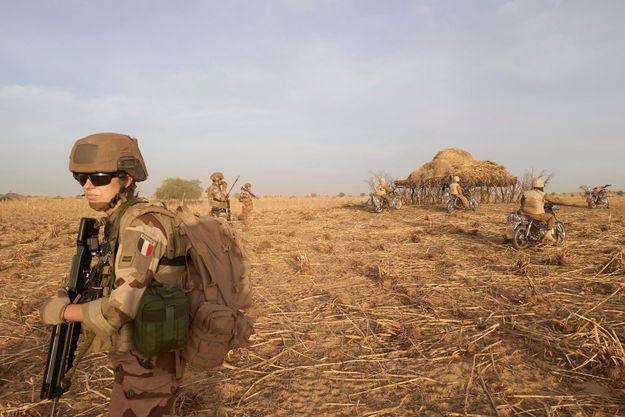 Soldat français au Burkina Faso en novembre 2019.