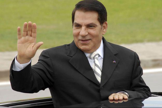 L'ancien président tunisien Zine El Abidine Ben Ali, en octobre 2009.