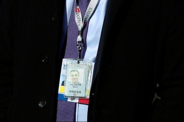 Jim Acosta a récupéré illico son accréditation.