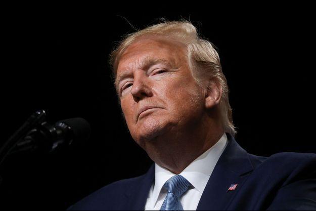 Donald Trump à Pittsburgh mercredi.