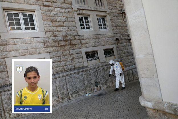 Le jeune Vitor avait été hospitalisé samedi à Porto.