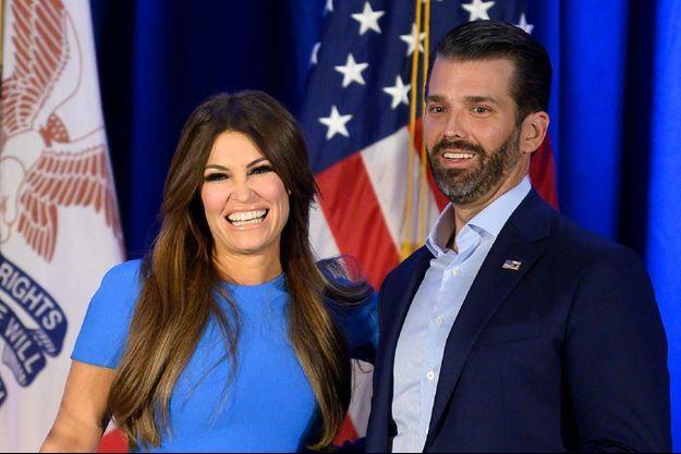 Kimberly Guilfoyle et Donald Trump Junior, en février 2020