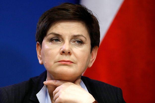 La Première ministre polonaise Beata Szydlo, en mars dernier.