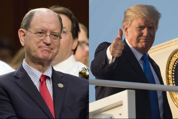 Brad Sherman et Donald Trump.