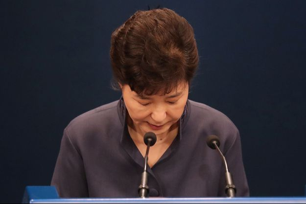La présidente sud-coréenne Park Geun-Hye.