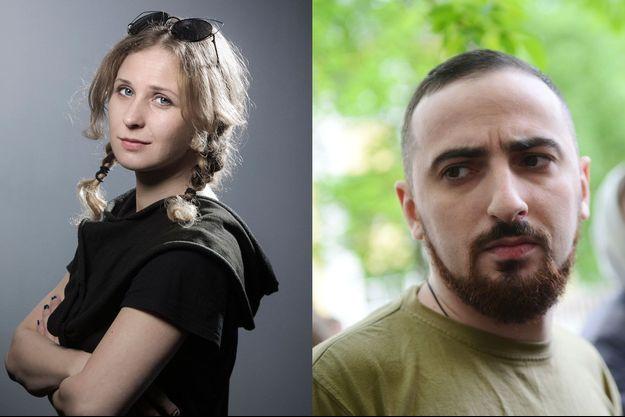 Maria Alyokhina et Dmitry Enteo