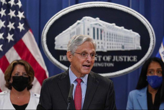 Merrick Garland au département de la Justice, le 9 septembre 2021.