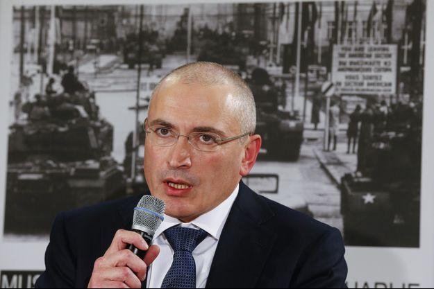 Mikhaïl Khodorkovski.