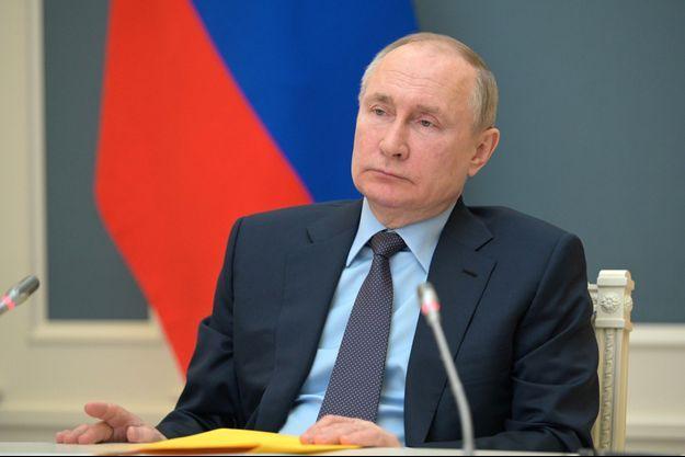Vladimir Poutine, le 14 avril 2021.