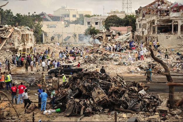 L'attentat s'est produit dans un quartier très fréquenté de la capitale.