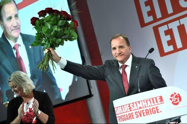 Stefan Löfven, le leader des sociaux-démocrates.