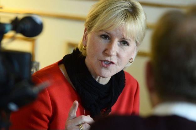Margot Wallström, la ministre des Affaires étrangères de Suède.