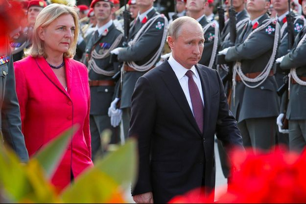 Karin Kneissl, Vladimir Poutine