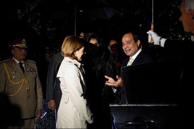 Florence Parly, Abdel Fattah al-Sissi