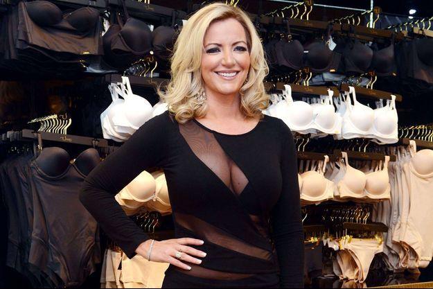 En avril dernier, Michelle Mone lançait la gamme Ultimo dans un grand magasin de Glasgow.