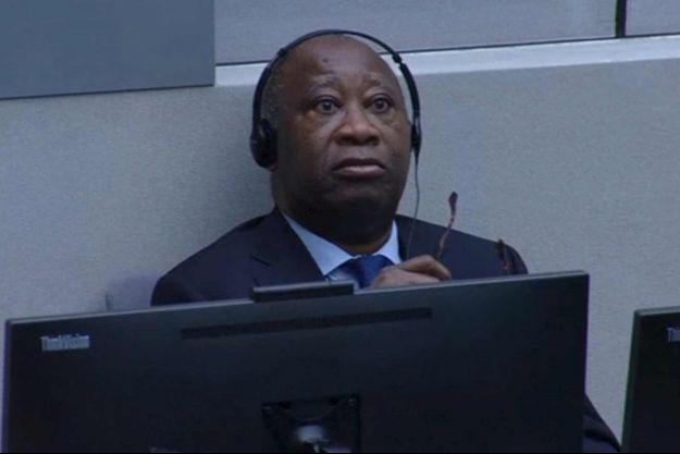 Laurent Gbagbo à La Haye ce jeudi.