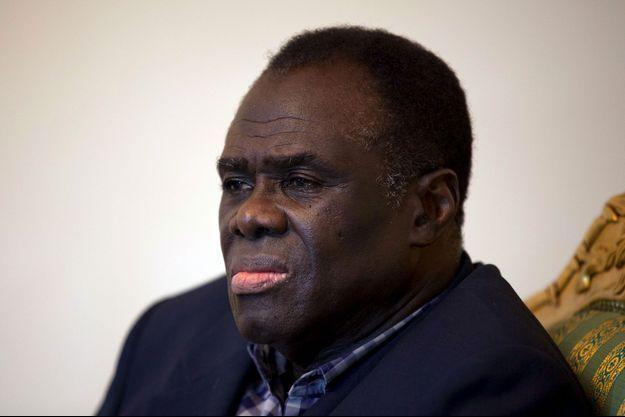 Le président de transition burkinabè, Michel Kafando.