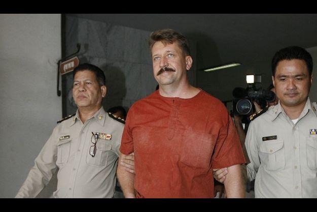 Le Russe Viktor Bout est accusé de trafic d'armes issues du marché noir et revendues aux guérillas africaines dans les années 90. Ici, à Bangkok, en août 2008. Il a été extradé vers les Etats-Unis en novembre 2010.