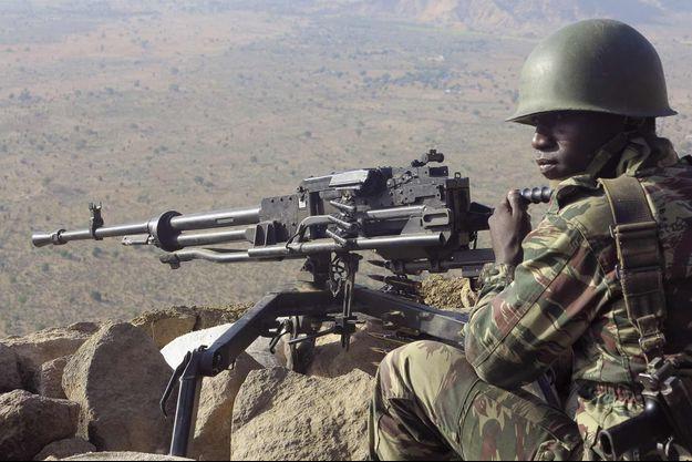 Un soldat camerounais.