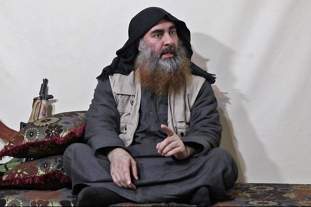 Abou Bakr al-Baghdadi dans son dernier enregistrement en avril 2019.