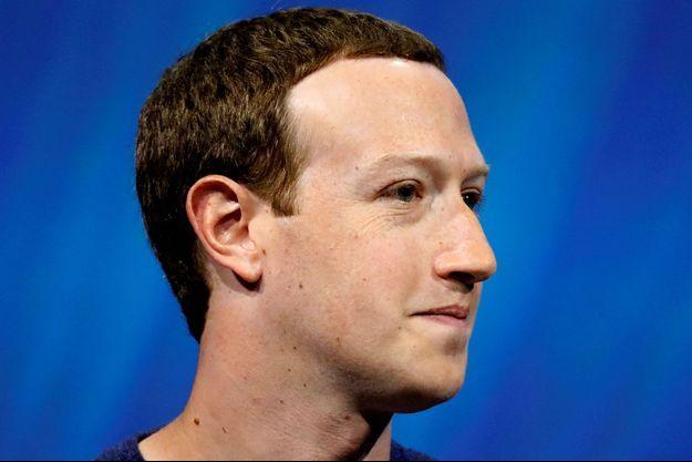Le PDG de Facebook Mark Zuckerberg.