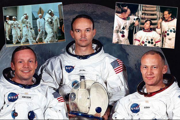 Les missions Apollo 11, 12 et 16...
