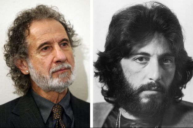 Frank Serpico, à gauche, Al Pacino, à droite.