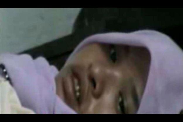 Une capture d'écran d'un reportage de la télévision indonésienne.
