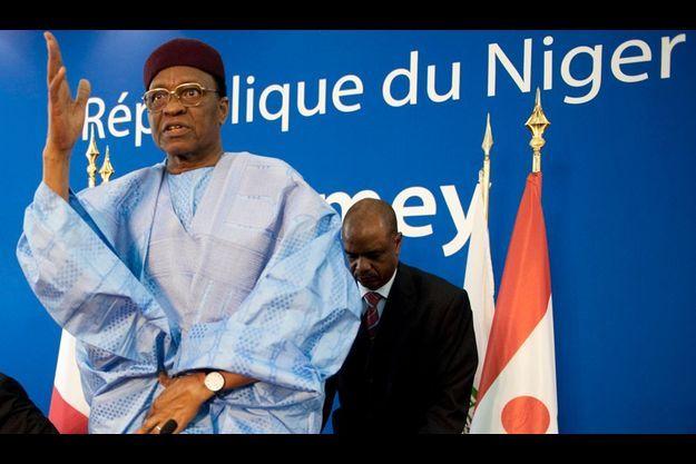 Le président du Niger Mamadou Tandja en mars 2009