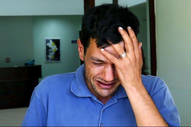 Abdullah Kurdi, dont les deux fils et l'épouse sont morts en tentant de traverser la Méditerranée.