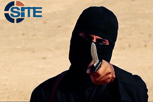 Mohammed Emwazi, alias Jihadi John, sur une des vidéos de propagande.