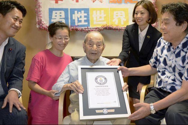 Le doyen de l'humanité, Yasutaro Koide, est décédé.