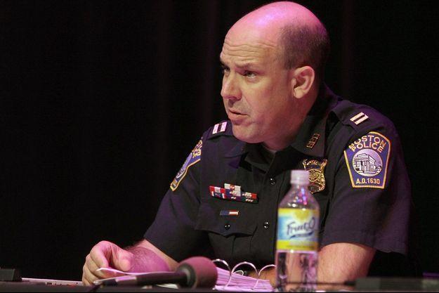 Robert Ciccolo, capitaine de la police de Boston dont le fils a été arrêté car il préparait un attentat terroriste.