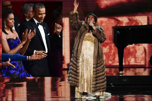 Barack Obama, Aretha Franklin