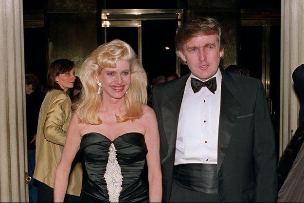 Donald Trump et son ex-femme Ivana en 1989.