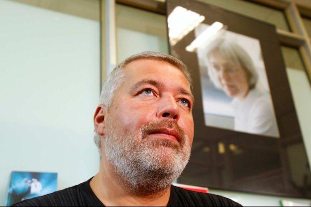 Dmitri Mouratov, le rédacteur en chef de «Novaïa Gazeta», en 2011.