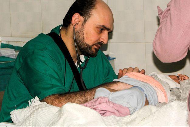 Le Dr Muhammed Wassim Maaz, pédiatre, tué dans le bombardement de l'hôpital d'Al-Quds, à Alep, dans la nuit du 27 au 28 avril.