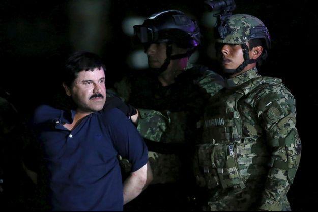 El Chapo a été arrêté en janvier dernier, après six mois de cavale.