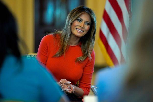 Melania Trump en mai dernier.