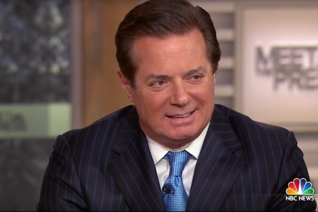 Paul Manafort lors de son passage sur NBC.