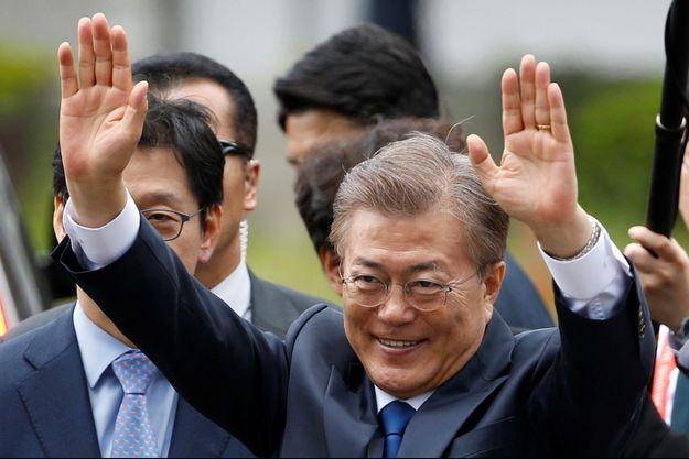 Moon Jae-In, le nouveau président sud-coréen.