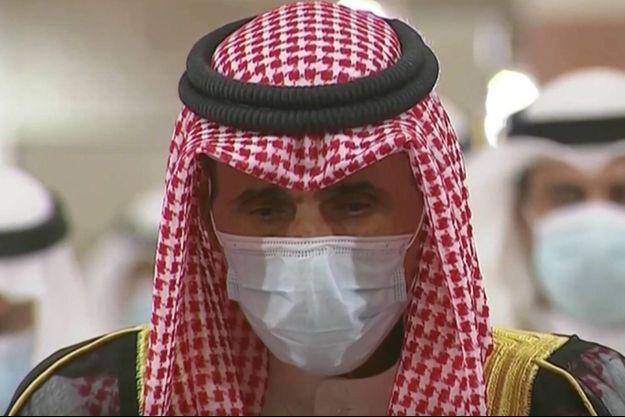 Le nouveau prince héritier de Koweït, cheikh Mechaal al-Ahmad al-Jaber Al-Sabah.