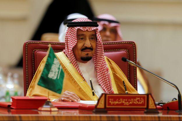 Le roi Salman règne sur l'Arabie Saoudite depuis deux ans.