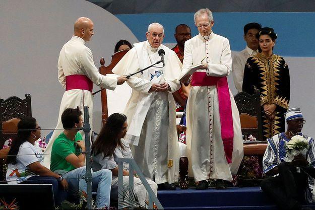 Le Pape François au Panama.