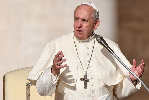Le pape François le 16 octobre 2019.