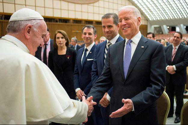 Pape Francois, Joe Biden