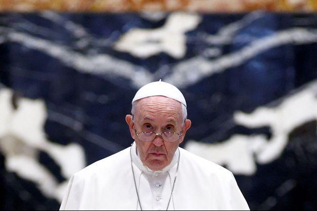 Le pape le 1er juillet 2021