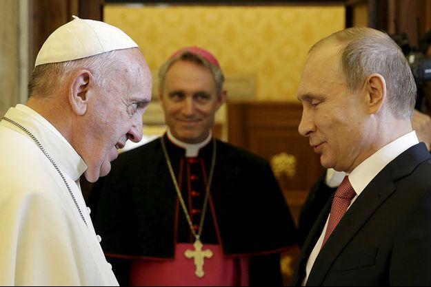 Le pape François avait rencontré Vladimir Poutine en juin 2015.