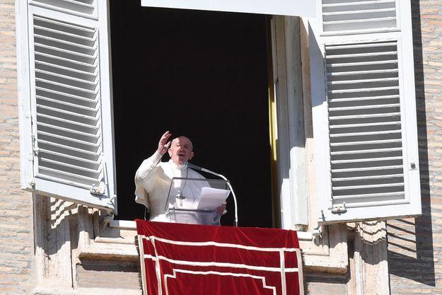 Le pape François le 14 février 2021, au Vatican.