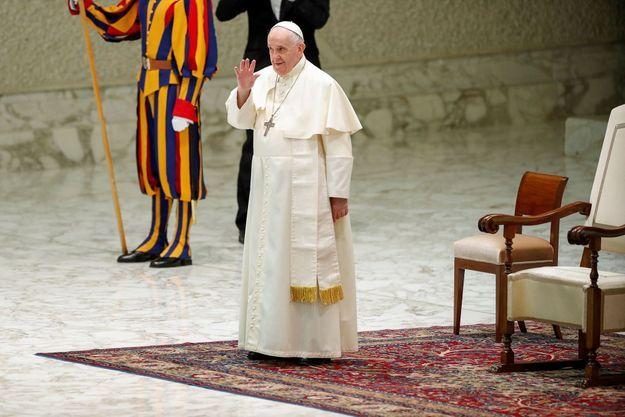 Le pape François au Vatican, le 8 septembre 2021.